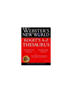Websters New World Rotgets A-Z Thesaurus