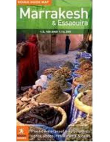 Rough Guide Map Marrakesh & Essaouira