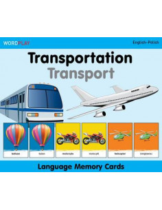 Language Memory Cards - Transportatio