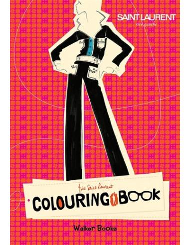 Yves Saint Laurent Rive Gauche Colouring Book