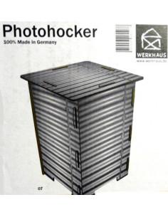 Photohocker - Blech