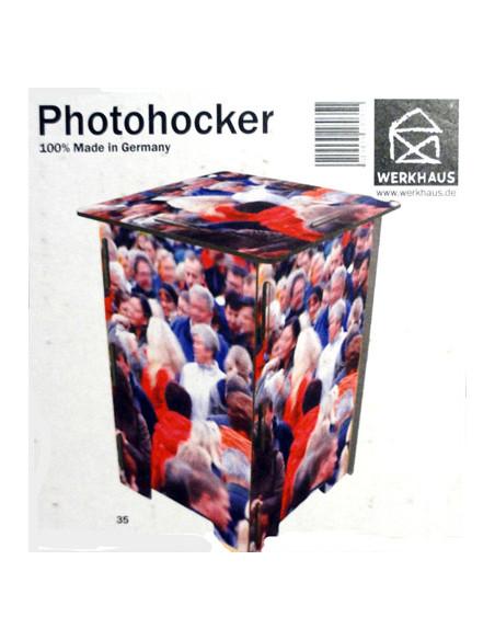 Photohocker - Menschenmenge