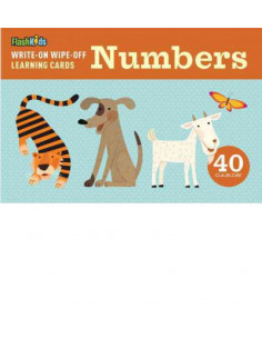 Numbers. Write-on-Wipe-off