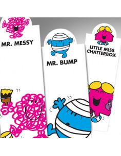 Zakładka - Mr Messy Bookmark