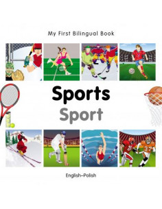 My First Bilingual Book - Sports: English-Polish