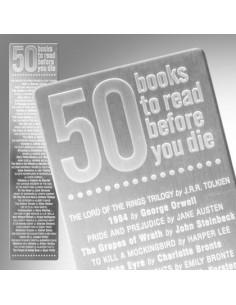 Zakładka - 50 Books Bookmark