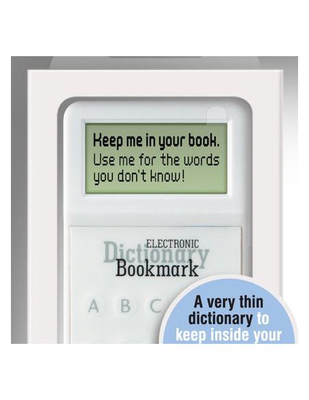 Zakładka/Słownik - Electronic Dictionary Bookmark (Szara)