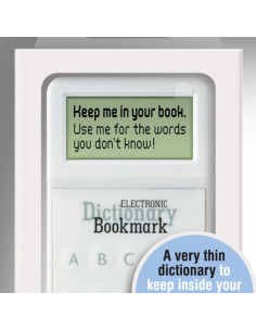 Zakładka/Słownik - Electronic Dictionary Bookmark (Różowa)