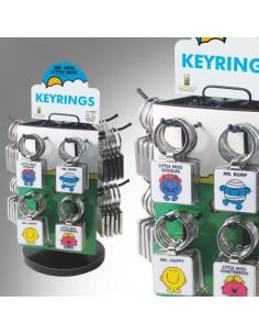 Brelok - Mr. Happy Keyring