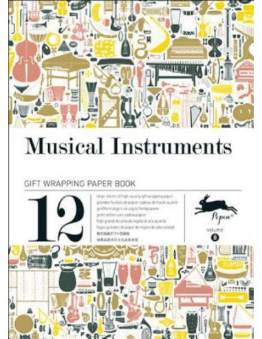 Gift Wrapping Book 08: Musical Instruments