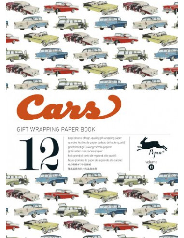 Gift Wrapping Book 13: Cars