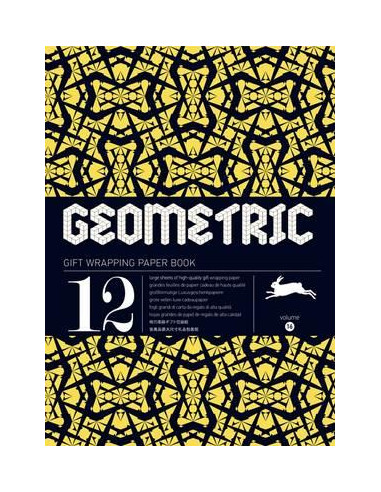 Gift Wrapping Book 16: Geometric