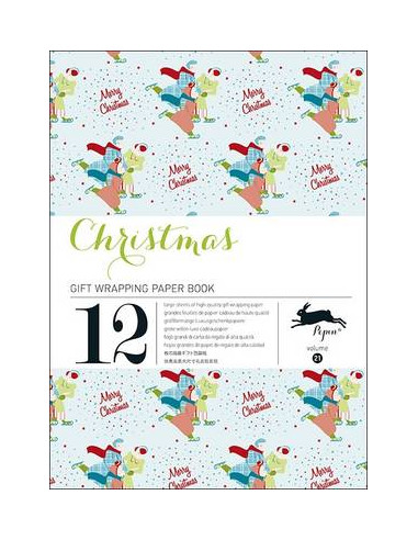 Gift Wrapping Book 21: Christmas