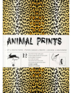Gift Wrapping Book 29: Animal Prints