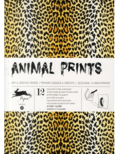 Gift Wrapping Book 29: Animal Prints