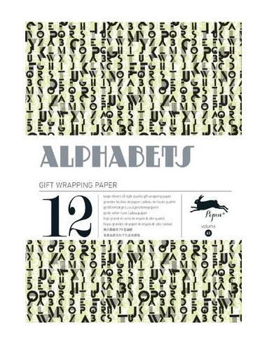 Gift Wrapping Book 41: Alphabets
