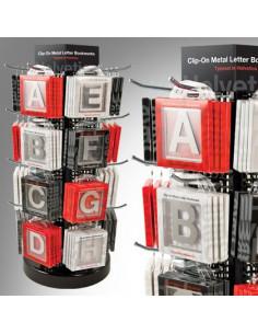 Zakładka - Helvetica Clip-On Letter E