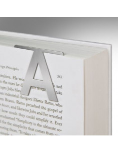 Zakładka - Helvetica Clip-On Letter L