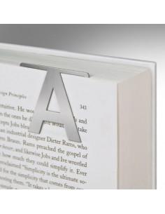 Zakładka - Helvetica Clip-On Letter N