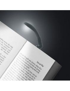 Lampka - Really Tiny Book Light with E-Reader Adapter (Szara)