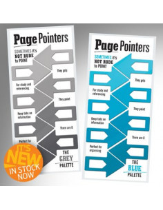Zakładki - Page Pointers (Niebieskie)
