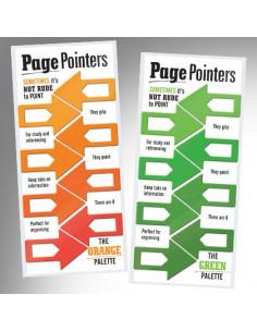 Zakładki - Page Pointers (Pomarańczowe)
