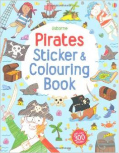 Pirates Sticker and Colouring Book