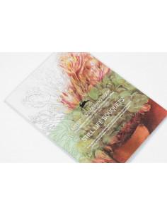 Still Life Bouquets Colouring Book