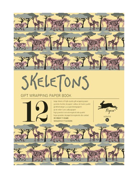 Gift Wrapping Book 14: Skeletons