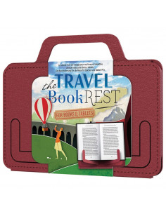 Podpórka Travel Book Rest - Country Crimson