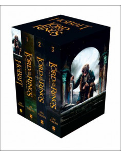 The Hobbit and The Lord of the Rings : Boxed Set 4 vol