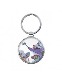 Metal Keyring - Roald Dahl  The Witches
