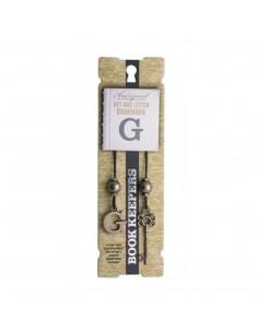 Zakładka - Letter G Book Keeper