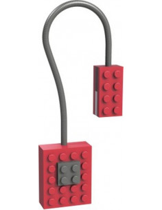 Lampka Block Light Neon - Red