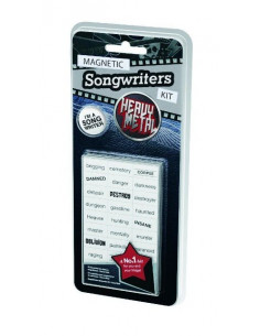 Magnetic Songwriters Kit - Heavy Metal