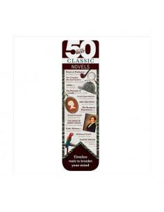 Zakładka - 50 Of The Best Books Bookmark - Classic Novels