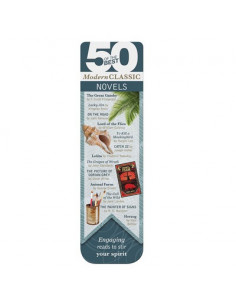 Zakładka - 50 Best Modern Classics Bookmark