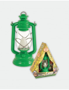 The Base Camp Reading Lamp - ADVENTURE GREEN