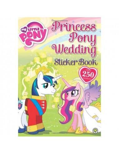 Princess Pony Wedding Sticker Book