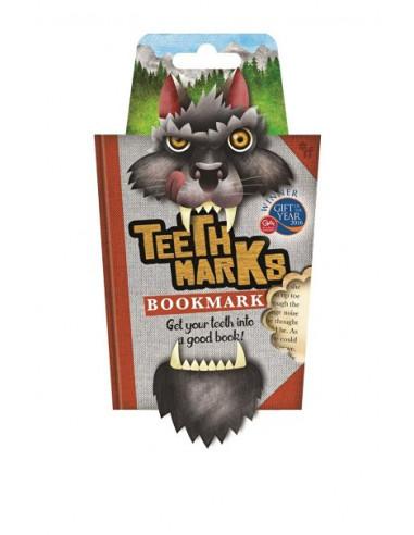 Zakładka -Teethmarks Bookmarks - T-Rex