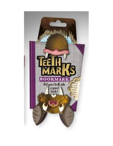 Zakładka - Teethmarks Bookmarks - Bat