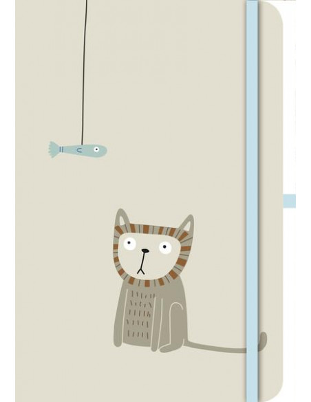 Cats Green Journal Small