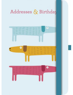 Dogs Address & Birthday Book