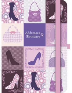 Fashion Address & Birthday Book