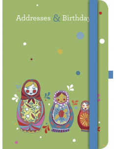 Jessica Swift Address & Birthday Book