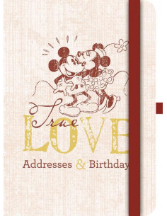 Mickey Mouse Retro Address & Birthday Book
