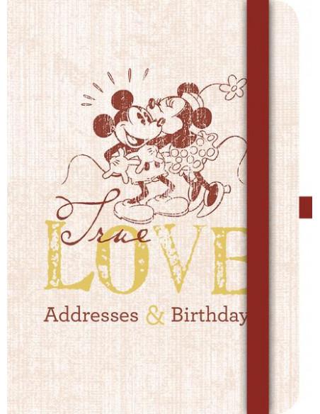 Mickey Mouse Retro Address & Birthday Book