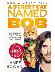 A Street Cat Named Bob : How One Man and His Cat Found Hope on the Streets