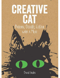 Creative Cat: Pattern, Doodle, Colour with a Muse