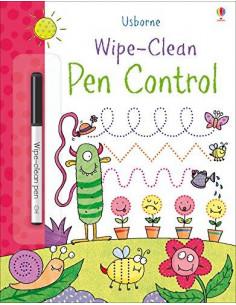 Wipe-Clean Pen Control